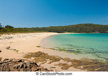 Cave Beach in Australian New South Wales