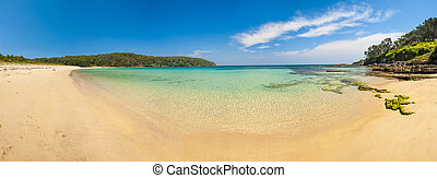 Cave Beach Panorama in Australian New South Wales