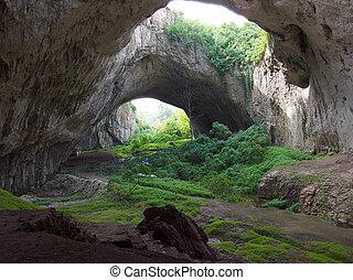 Cave - Big cave in Bulgaria