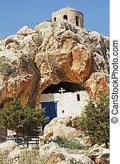 Cave church, Protaras, Cyprus - Cave church, tourist...