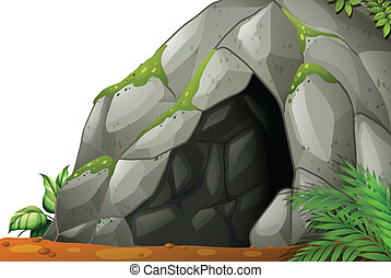 Cave - Illustration of a cave
