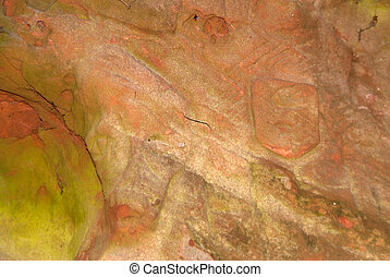 Cave on the Hiking Trail Eifelsteig