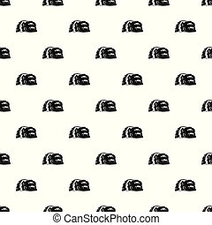 Cave painting pattern vector seamless