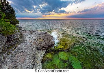 Cave Point Daybreak