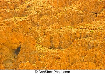 Cave. - Caves In Qumran, Israel, Origin Of The Dead Sea...