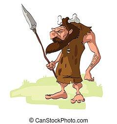 caveman, cartone animato