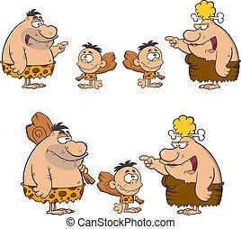 Caveman Cartoon Characters