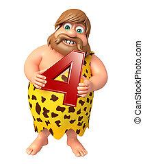 caveman, cifra, 4