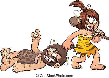caveman, coppia