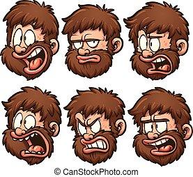 caveman, emozioni