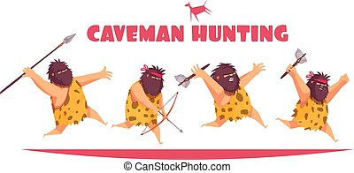 Caveman Hunting Design Concept