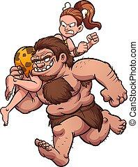 caveman, rapimento