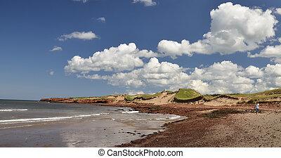 Cavendish beach - Dunes and beach at Cavendish Prince Edward...