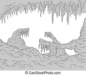 cavern rock zone draw