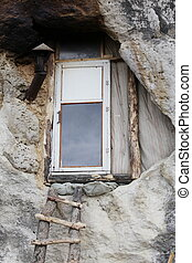 caverne, église