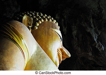 caverne, bouddha