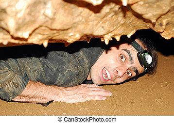 caverne, explorateur