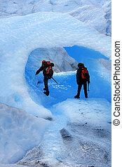 caverne, glace