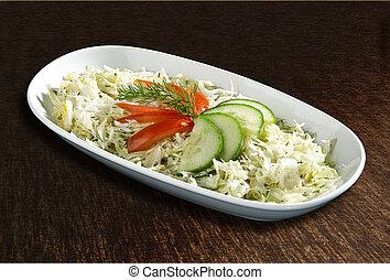 cavolo, insalata, cetrioli