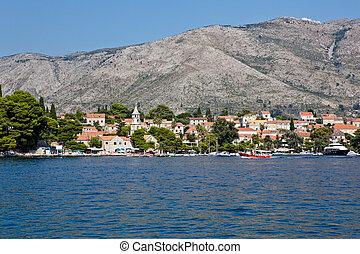 cavtat, alte stadt, -, kroatien