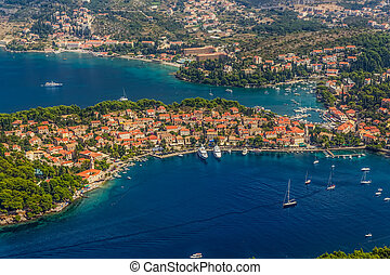 Cavtat, Croatia - Helicopter aerial shoot of Cavtat. Well...