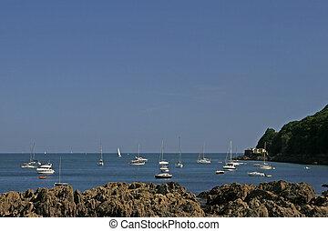 Cawsand near Plymouth, Cornwall, Southwest England