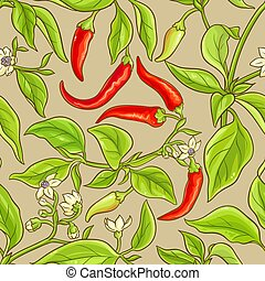 cayenne pepper pattern - cayenne pepper vector pattern on ...