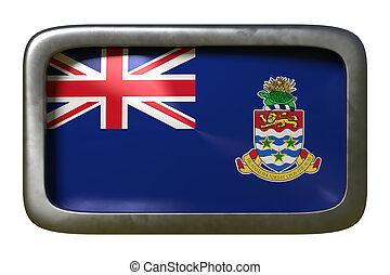 Cayman Islands flag sign