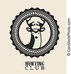caza, diseño