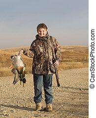 caza, pato