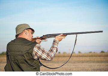 cazador, caza