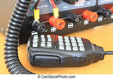 cb , θέση , ραδιόφωνο