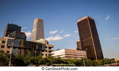 CBD buildings in Beijing