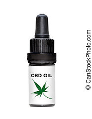 CBD Oil Dropper Bottle - Generic dropper bottle of healthy ...