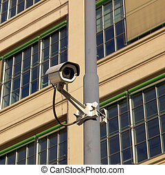 CC-TV - Closed Circuit TV video camera for security...