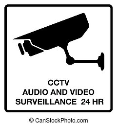 cctv, áudio, surveillance video