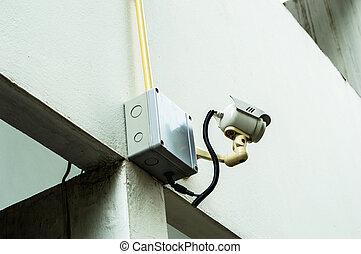 CCTV, セキュリティー, カメラ