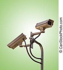 CCTV, セキュリティー, カメラ, ビデオ, 監視