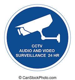 CCTV audio and video surveillance