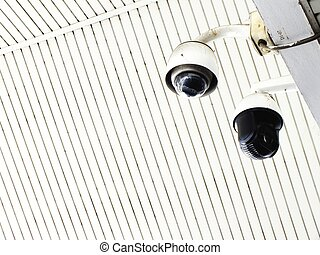 cctv camera in office building