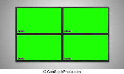 cctv monitor display for video recording - CCTV Security...