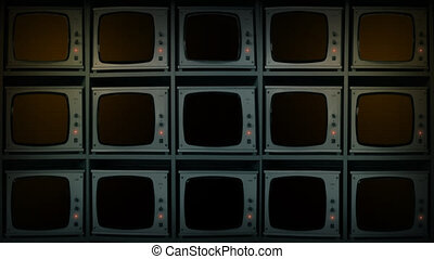 CCTV Monitors - Keyed Empty Screens - Easily add your own...