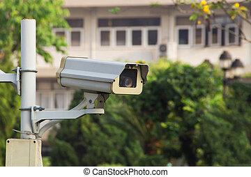 cctv, of, videobeveiliging