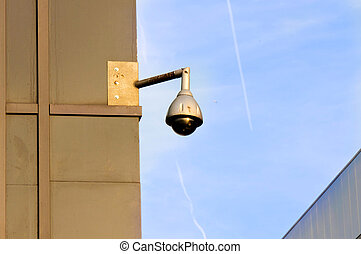 CCTV on building