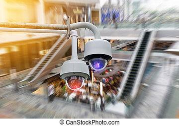 cctv, säkerhet kamera