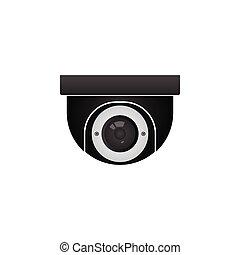 CCTV surveillance camera icon