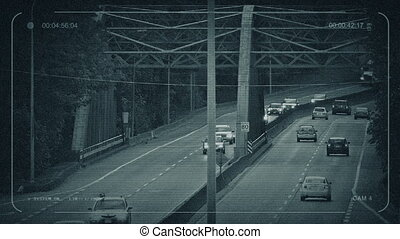 CCTV Traffic Over Big Iron Bridge