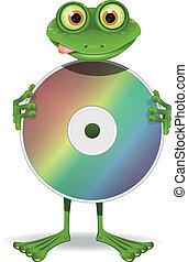 cd, カエル