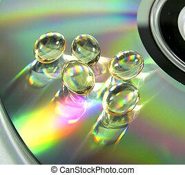 cd, &, 薬
