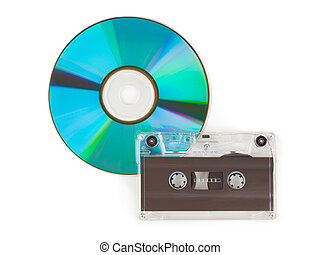 CD and cassette